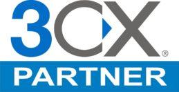 3CX Firmenlogo mit Zusatz Partner