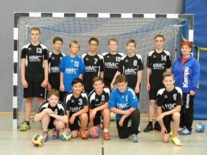 Junioren Handballmannschaft