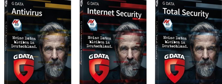 Bild mit drei G-Data Boxen