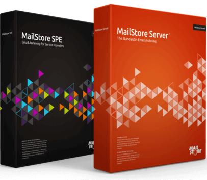 Mailstore SPE und Server Box