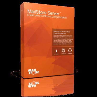 Foto der Mailstore Server Box